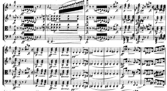 String Writing 3: Tremolo | www A Level Music com