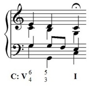 cadential six four